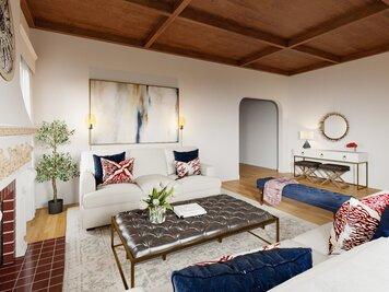 Online design Transitional Living Room by Farzaneh K. thumbnail