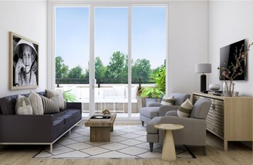 Online design Contemporary Living Room by Drew F. thumbnail