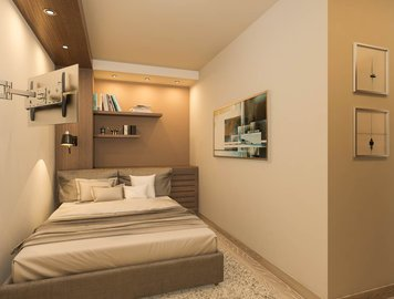 Online design Eclectic Bedroom by Natasa P. thumbnail
