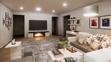 Online design Modern Living Room by Fereshteh H. thumbnail