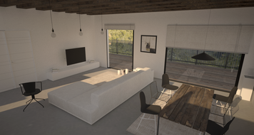 Online design Contemporary Combined Living/Dining by Chiara B. thumbnail