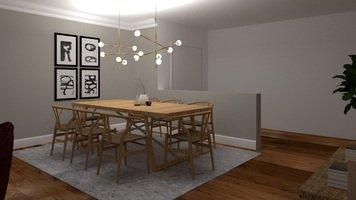 Online design Modern Dining Room by Ornela N. thumbnail