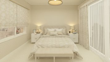 Online design Transitional Bedroom by Salma o. thumbnail