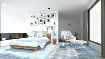 Online design Modern Bedroom by Ornela N. thumbnail