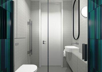 Online design Modern Bathroom by Agata M. thumbnail