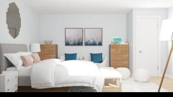 Online design Glamorous Bedroom by Ebere O. thumbnail