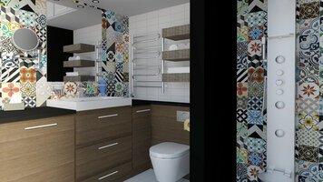 Online design Modern Bathroom by Selma A. thumbnail