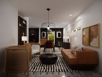 Online design Contemporary Dining Room by Courtney B. thumbnail