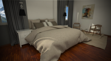 Online design Contemporary Bedroom by Nicolle E. thumbnail