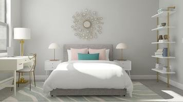 Online design Contemporary Bedroom by Katelin S. thumbnail