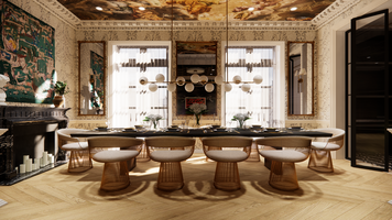 Online design Eclectic Dining Room by Matthew J. thumbnail