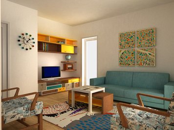 Online design Eclectic Living Room by Dragana V. thumbnail