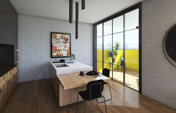 Online design Contemporary Kitchen by Lizzy M. thumbnail