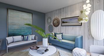Online design Beach Living Room by Kimberley S. thumbnail