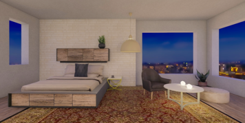Online design Contemporary Bedroom by Jennifer S. thumbnail