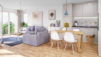 Online design Contemporary Living Room by Rajna S. thumbnail