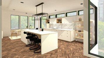 Online design Modern Kitchen by Ornela N. thumbnail