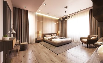 Online design Contemporary Bedroom by Anahit M. thumbnail