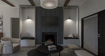 Online design Traditional Living Room by Dale C. thumbnail