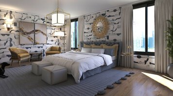 Online design Eclectic Bedroom by Kristin W. thumbnail