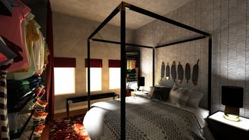 Online design Contemporary Bedroom by Brianna S. thumbnail