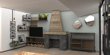 Online design Country/Cottage Living Room by Vanessa A. thumbnail
