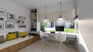 Online design Contemporary Home/Small Office by Pratiksha K. thumbnail