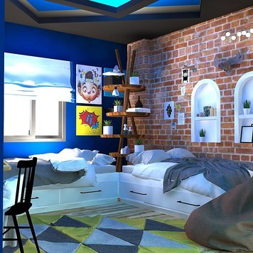 Online design Transitional Bedroom by Ahmed E. thumbnail