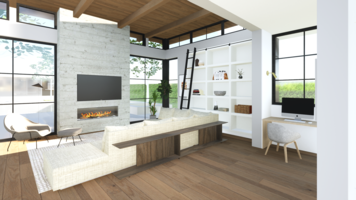 Online design Contemporary Living Room by Shannon W. thumbnail