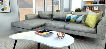 Online design Eclectic Living Room by Allison E. thumbnail