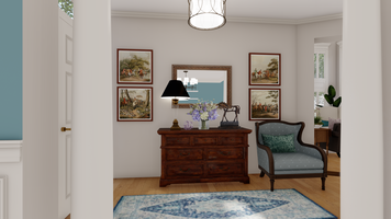 Online design Traditional Hallway/Entry by Picharat A.  thumbnail