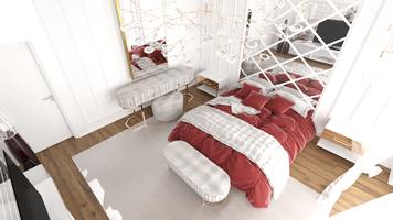 Online design Modern Bedroom by Rana S. thumbnail