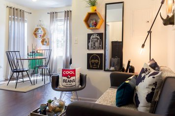 Online design Eclectic Combined Living/Dining by Francis D. thumbnail