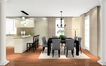 Online design Traditional Dining Room by Noraina Aina M. thumbnail