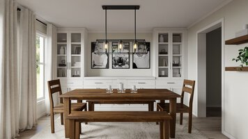 Online design Transitional Dining Room by Selma A. thumbnail