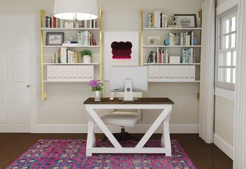 Online design Transitional Home/Small Office by Laura N. thumbnail