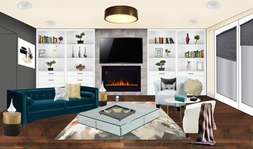 Online design Glamorous Living Room by Tabor L. thumbnail