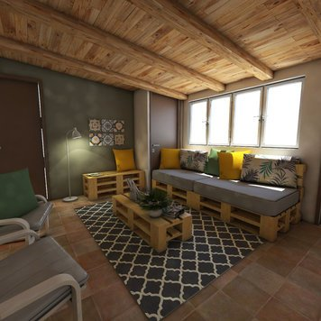 Online design Beach Living Room by Jessica S. thumbnail
