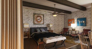 Online design Eclectic Bedroom by Morgan W. thumbnail
