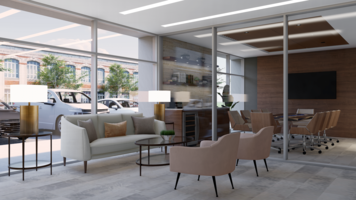 Online design Contemporary Business/Office by Picharat A.  thumbnail