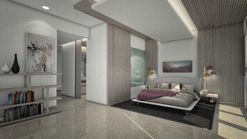 Online design Modern Bedroom by Nora B. thumbnail
