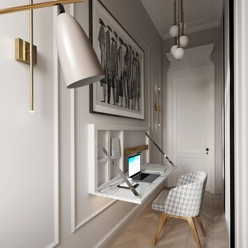 Online design Transitional Home/Small Office by Nathalie I. thumbnail