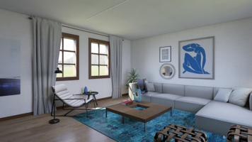 Online design Contemporary Living Room by Nancy S. thumbnail