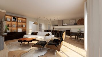 Online design Modern Living Room by Martyna C. thumbnail