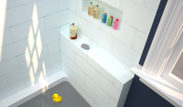 Online design Eclectic Bathroom by Debbie O. thumbnail