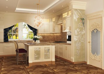 Online design Traditional Kitchen by Nora B. thumbnail