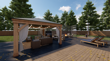 Online design Contemporary Patio by Picharat A.  thumbnail