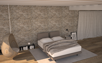 Online design Eclectic Bedroom by Chiara B. thumbnail