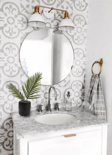 Online design Modern Bathroom by Ashly C. thumbnail