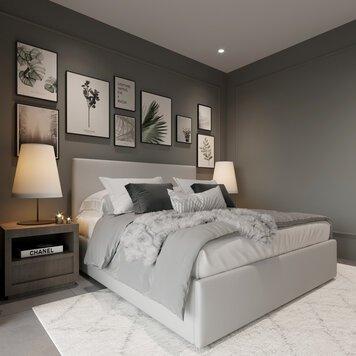 Online design Glamorous Bedroom by Nathalie I. thumbnail